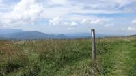 atop treeless summits,