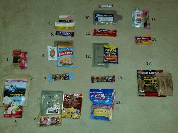 sample 4 day meal plan